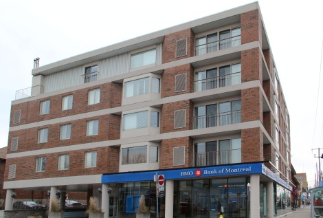 A mid-rise building at Eglinton and Elmsthorpe