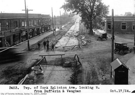 Eglinton has changed many times, with significant infrastructure playing a key role in transformation.