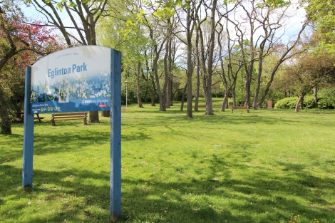 Eglinton Park is one of the many green assets to build upon